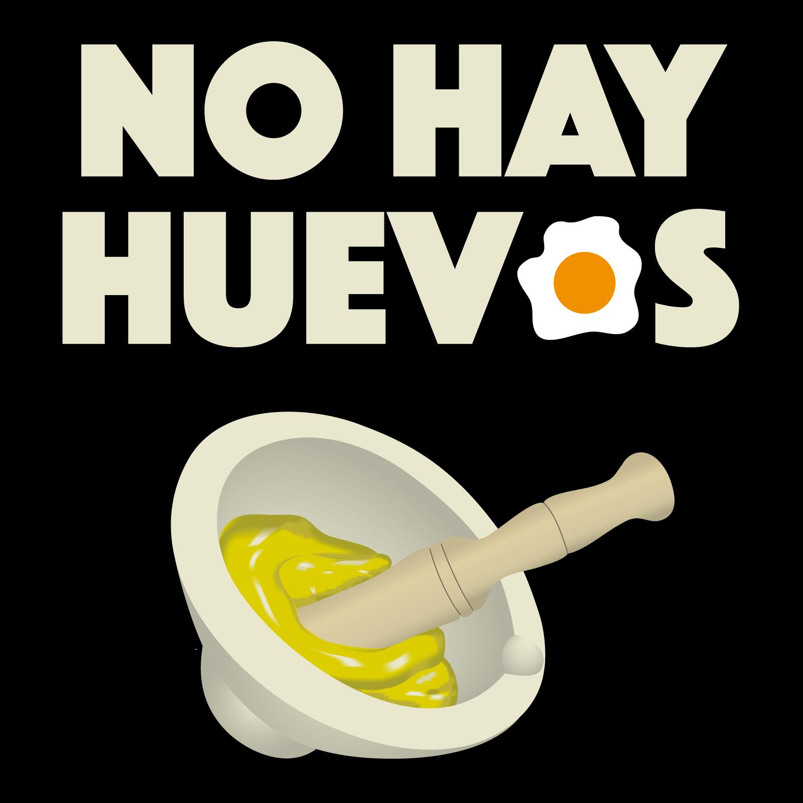 camiseta no hay huevos achavo camisetas